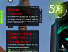 Tablet Preview of 50jahreampelmann.de